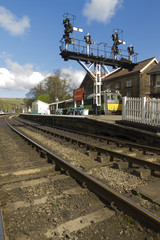Grosmont Station, North Yorkshire Moors Railway