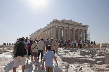 Ancient Ruins Of The Acropolis
