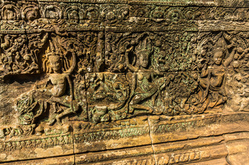 Khmer Wall Carvings