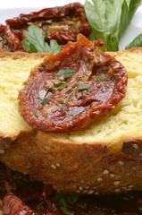 Pomodori secchi sott'olio Dried tomatoes in oil