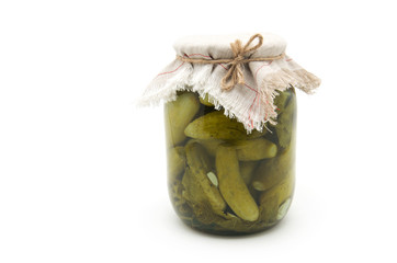 Pickled cucumbers vegetables