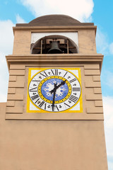 Clocktower in Capri.