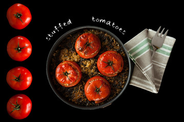 Stuffed Tomatoes Recipe Cover