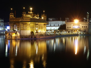 Golden Temple Sijs en Amritsar (India)