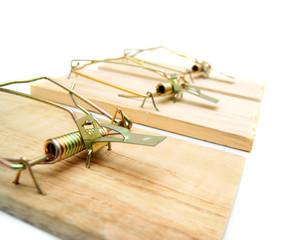 Mousetraps.