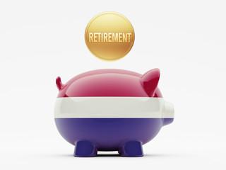 Netherlands Retirement Concept