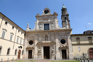 Abbey of Saint John the Evangelist. Parma. Italy