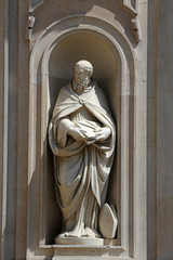 St Benedict of Nursia, church of St John the Evangelist. Parma