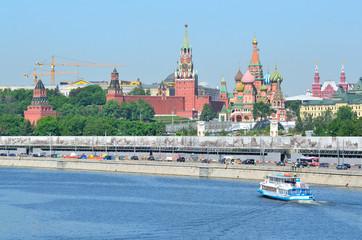 Москва, Кремль и собор Василия Блаженного
