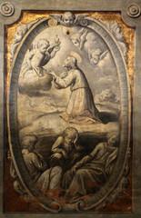 Agony in the garden,  Basilica St Maria della Steccata, Parma