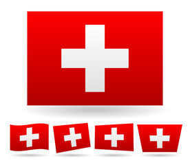 Swiss flag, flag of Switzerland