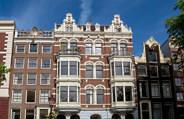 Amsterdam - Typical dutch architecture