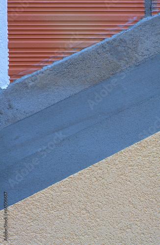 Brick and plaster