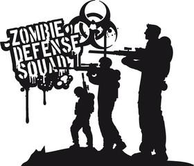 Zombie Defense Squad Soldiers