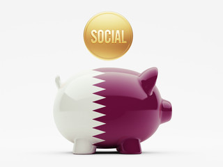 Qatar Social Concept