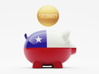 Chile Solidarity Concept