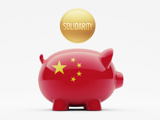 China Solidarity Concept