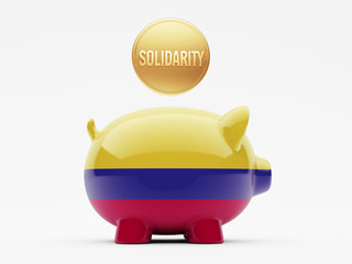 Colombia Solidarity Concept