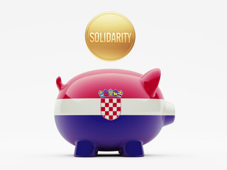 Croatia. Solidarity Concept