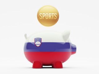 Slovenia Sports Concept