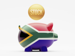 South Africa Stock Concept