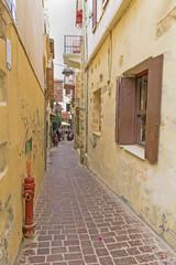 the historic city of Chania.