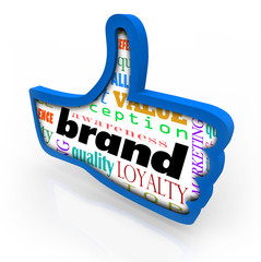 Brand Product Marketing Loyalty Thumbs Up Symbol