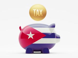 Cuba Tax Concept