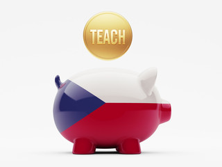 Czech Republic Teach Concept