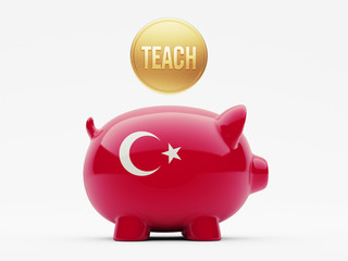 Turkey Teach Concept