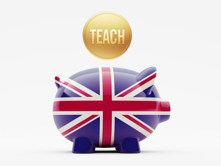 United Kingdom Teach Concept