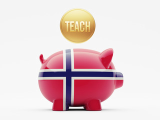 Norway Teach Concept
