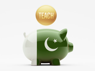 Pakistan Teach Concept