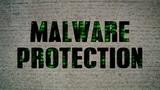 Malware Protection Crumbling Wall poster