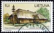 Dwelling house from the village of Kirdeikiai (Lithuania 2001)