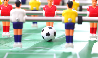 Foosball. football table