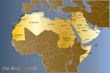 "monde arabe ""5 calques propres"""