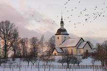Hiver de l'église suédoise