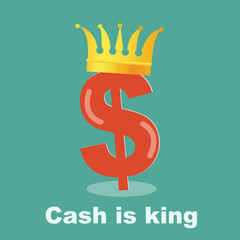 Cash is king - dollar gold grown