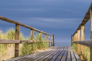 Nordsee nach Gewitter