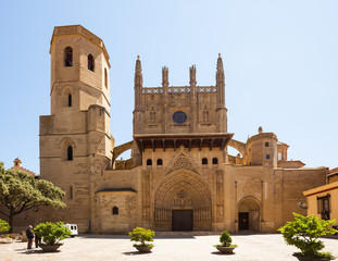 Cathedral of Transfiguration of the Lord in   Huesca