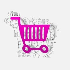 Drawing business formulas: trolley