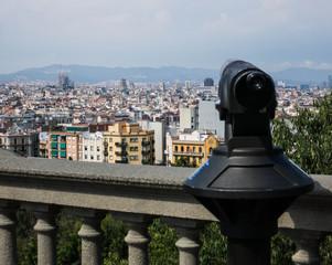 Aussicht auf Barcelona