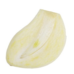 Sliced garlic