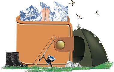 portafoglio campeggio