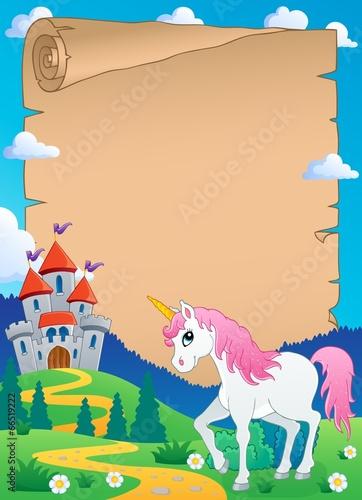 Poster Pony Fairy tale theme parchment 7