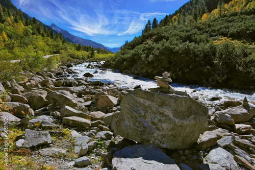 National park Krimml falls