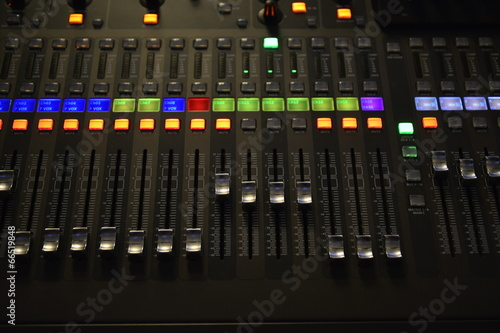 profi audio mixer