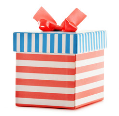 Gift boxe isolated on white background