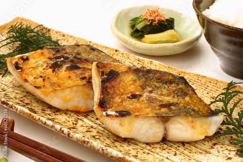 焼き魚 鰆の西京焼き 焼き魚定食 - 66522258
